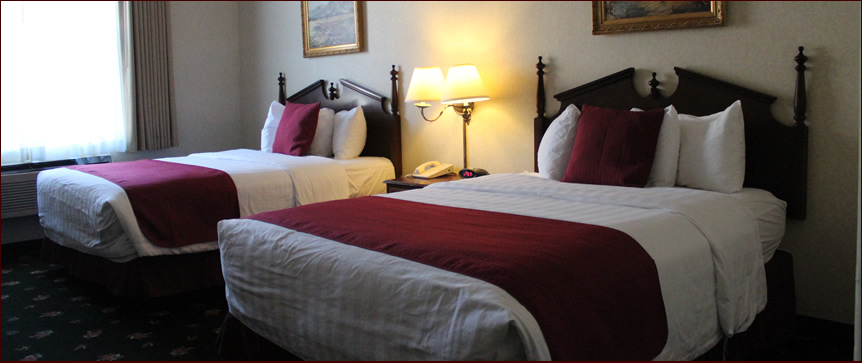 Eureka Gold Country Inn Dbl Queen room